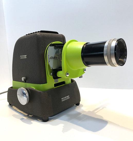 Projecteur diapo Aldis Vert et Anis
