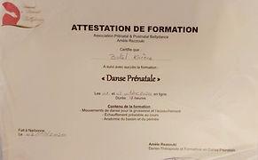 Danse Prénatale Karène d'Orient