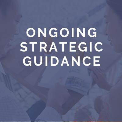 Ongiong Strategic Guidance
