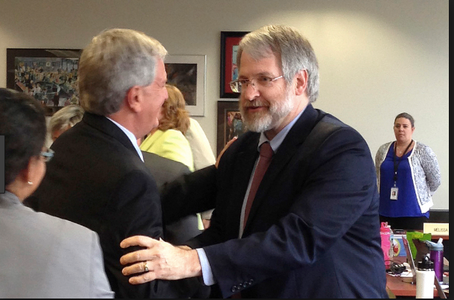 LCS administrators meet with state superintendent