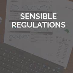 Sensible Regulations