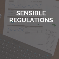 Sensible Regulations