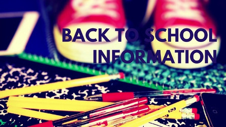 Welcome back to the 2017-2018 school year! What you need to know.