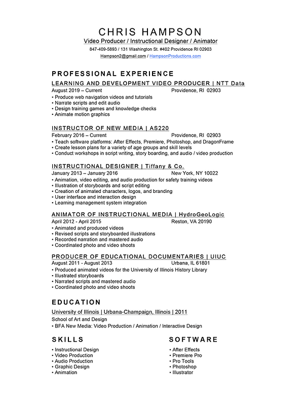Hampson CV.png