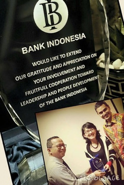Award from Bank Indonesia