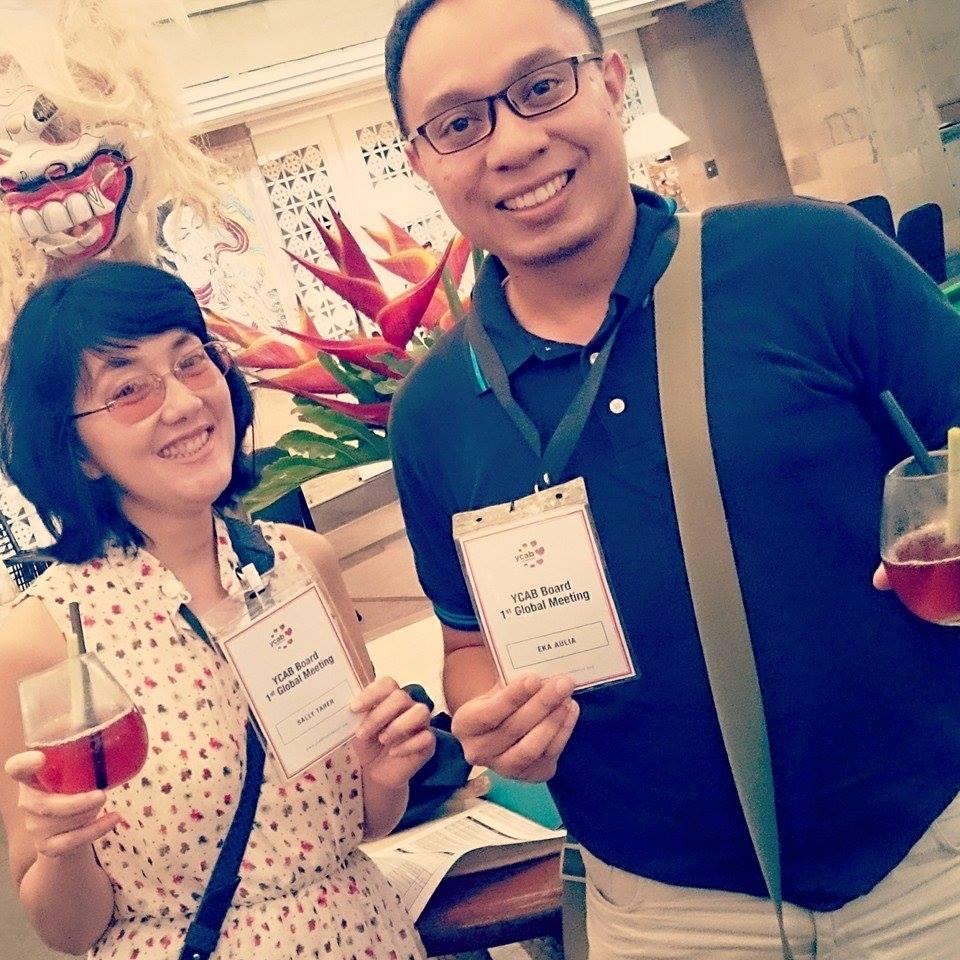 YCAB Board Meeting in Bali
