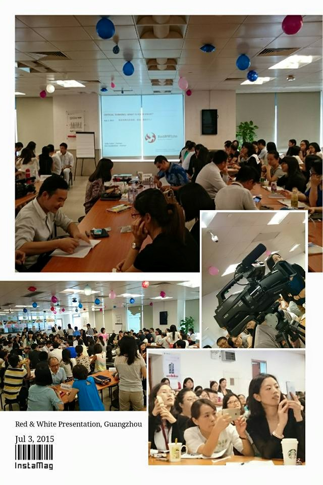 Critical Thinking Workshop in China