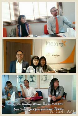 Meeting with Nexira, Rouen, France