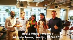 Weavee | Red&White
