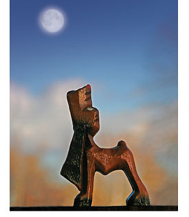 Howling Dog_16x20 frame.jpg