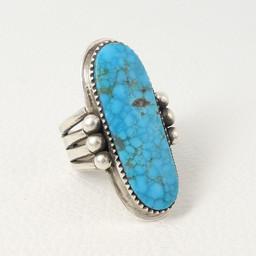 R3 Kingman Turquoise ring