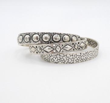 Cody Sanderson silver cuffs