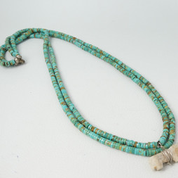 N2 Red Mountain Turquoise two strand he
