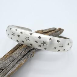 C20 Star stamped cuff