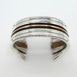 C23. Silver and copper cuff