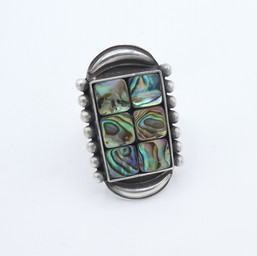 R15 Abalone ring