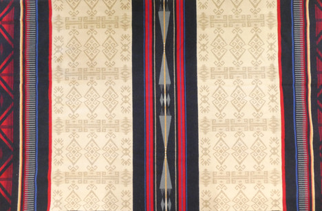 Pendleton 'Big Horn' wool blanket. 90in x 90in