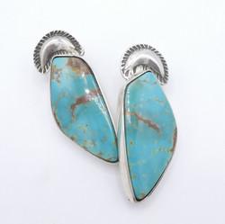 E15 Nevada Turquoise earrings