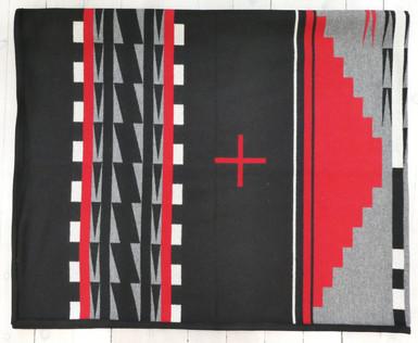 Pendleton 'Earth' wool blanket. 64in x 80in