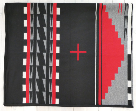 Pendleton 'Earth' wool blanket. 64in x 80in