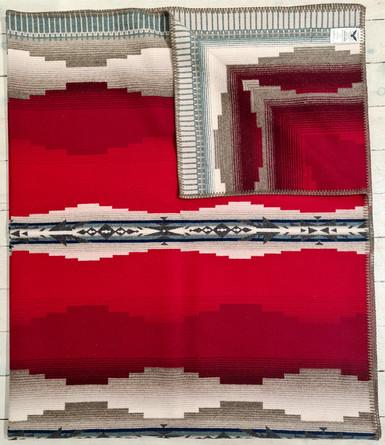 USA Pendleton wool milled blanket- Alamosa Jacquared robe