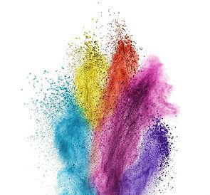 papiers-peints-poudre-de-couleur-explosi