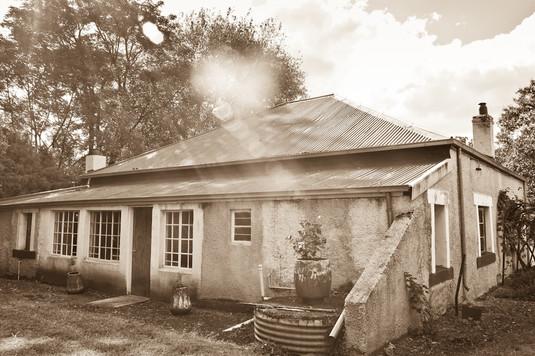 Farmhouse back door