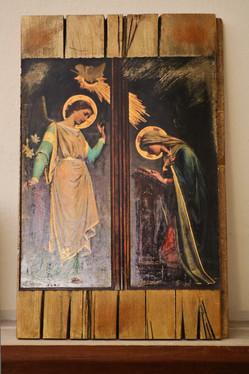Iconic prayer: aged