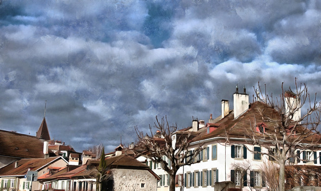 The skies over Lutry