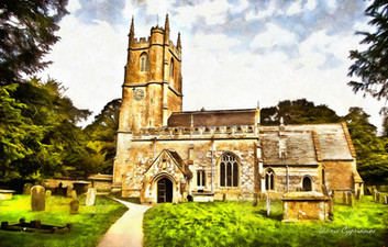 Norman village church, Avebury