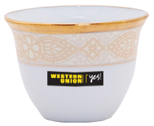 WESTERN UNION - COFFEE CUP
