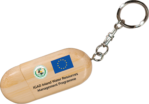 IGAD / EU - WOODEN FLASH DRIVE