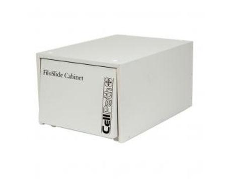 FILOSLIDE 4 csomag (fém szekrény + 100 db 4 zsebes műanyag tárgylemez és dokumentum tároló lap)