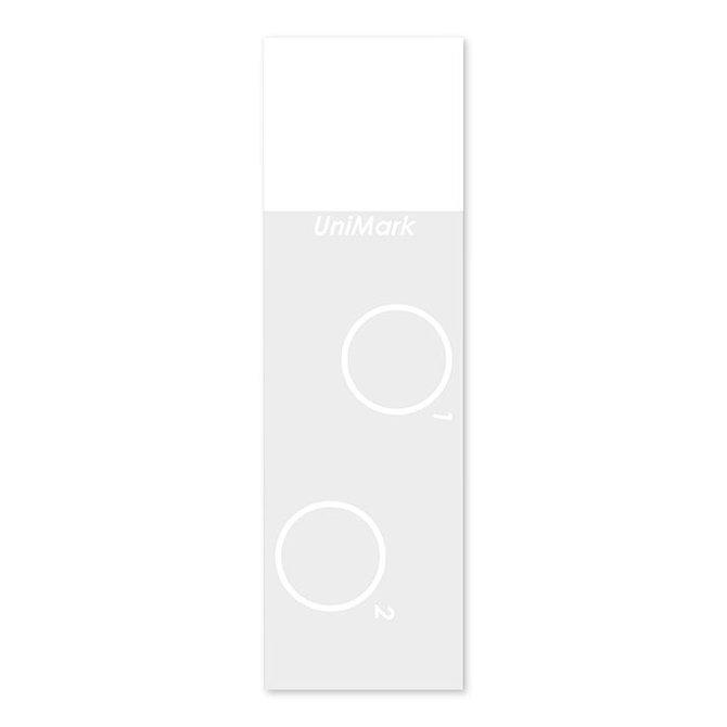 HISTOBOND + Kétkörös (fehér) citológiai tárgylemez 76 x 26 mm