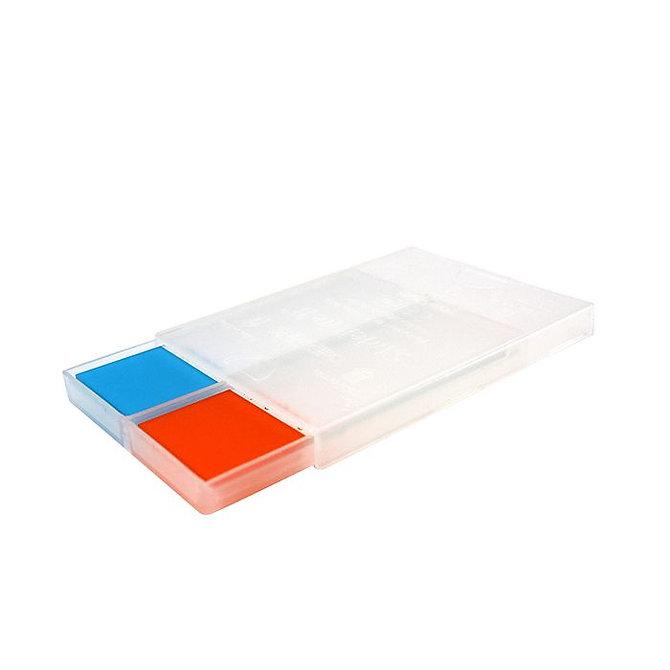 SLIDERITE II Mailer postázó 2 db tárgylemezhez, áttetsző műanyag