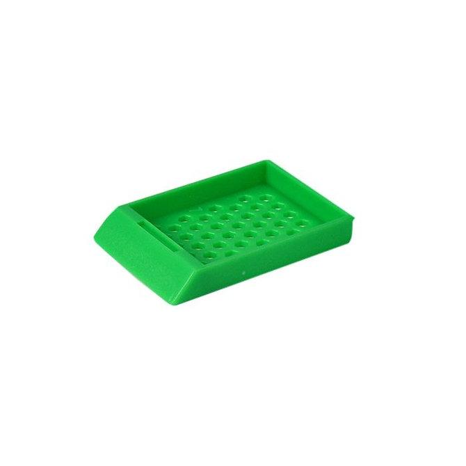 SYSTEM II HEX beágyazó kazetta - sötétzöld (ömlesztett csomagolás)