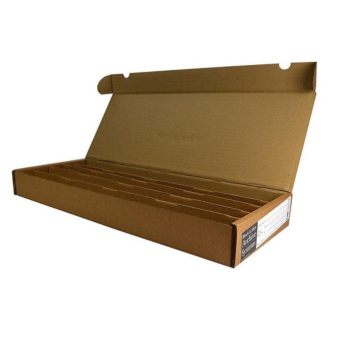 BLOCSTOR 5, 220 blokkhoz, 445 x 170 x 50 mm, lapra csomagolt