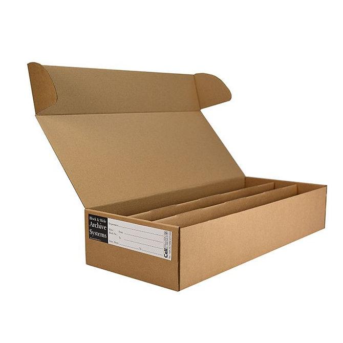 BLOCSTOR 3 tároló doboz 70 SUPA MEGA blokkhoz, 395 x 240 x 95 mm, lapra csomagolt
