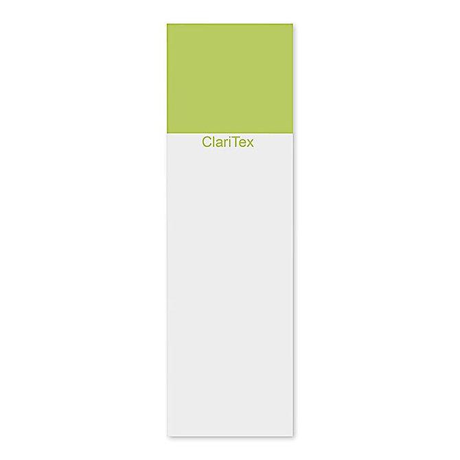 CLARITEX Colourcoat tárgylemez - zöld mattírozással