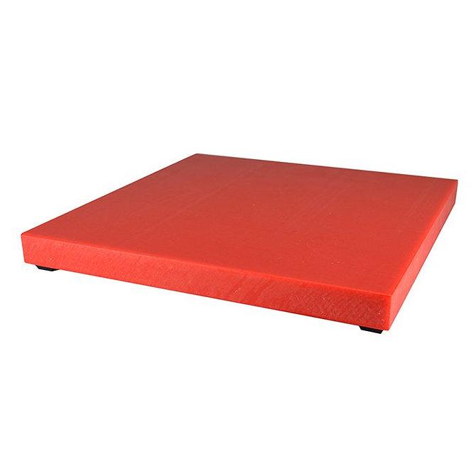 SURECUT Indító tálca, Piros, műanyag (300 x 300 x 25 mm)