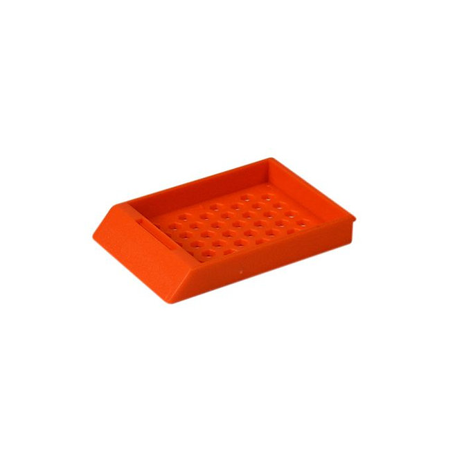 SYSTEM II HEX beágyazó kazetta - narancs (ömlesztett csomagolás)