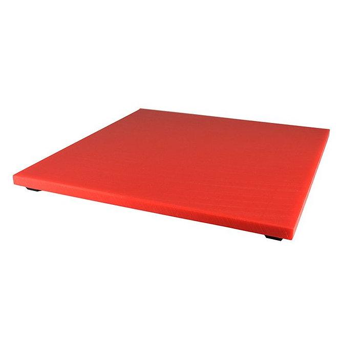 SURECUT Indító tálca, Piros, műanyag (300 x 300 x 12 mm)