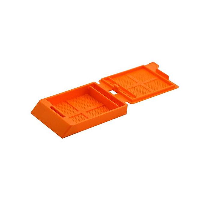 SYSTEM III mikrobiopsziás beágyazó kazetta - narancs (ömlesztett csomagolás,  hőnyomtatásra)
