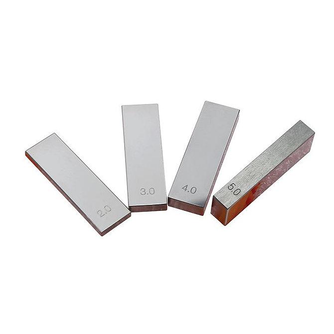 TRUSLICE - Kalibráló készlet, 2, 3, 4 és 5 mm-es acél kalibrációs rudak, ISO 15189 standard