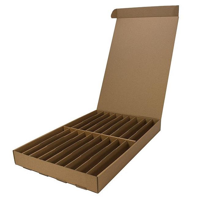 BLOCSTOR 9 tároló doboz 400 blokkhoz, 450 x 295 x 50 mm, lapra csomagolt