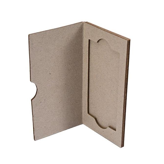 SLIDERITE MEGA SLIDE - kartonpapír postázó 1 db MEGA tárgylemezhez (76 x 39 mm)
