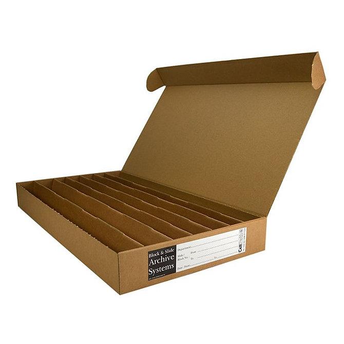 BLOCSTOR 7 tároló doboz 310 blokkhoz, 455 x 225 x 50 mm, lapra csomagolt