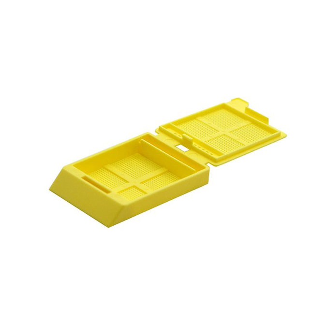 SYSTEM III mikrobiopsziás beágyazó kazetta - sárga (fűzött csomagolás, hőnyomtatásra)