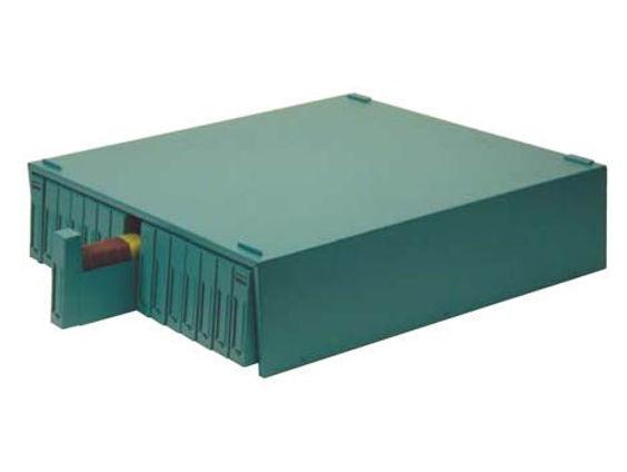 OMNISTOR 15 fiókos fém szekrény 4500 tárgylemezhez- kék