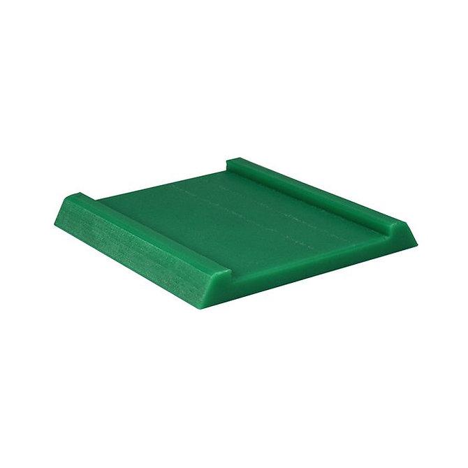 TRUSLICE - Betét 4 mm vastagságú szövetminták indításához, zöld, műanyag